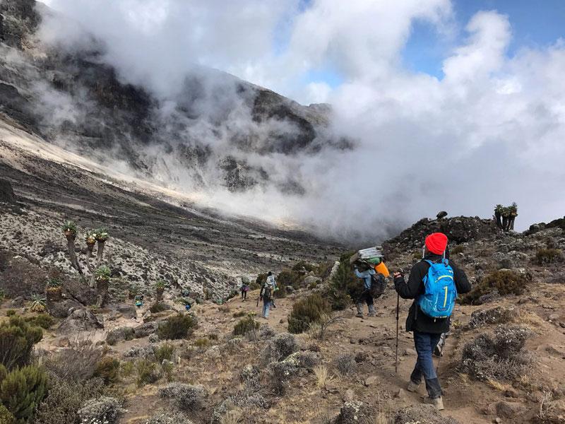 8 Days Lemosho Route