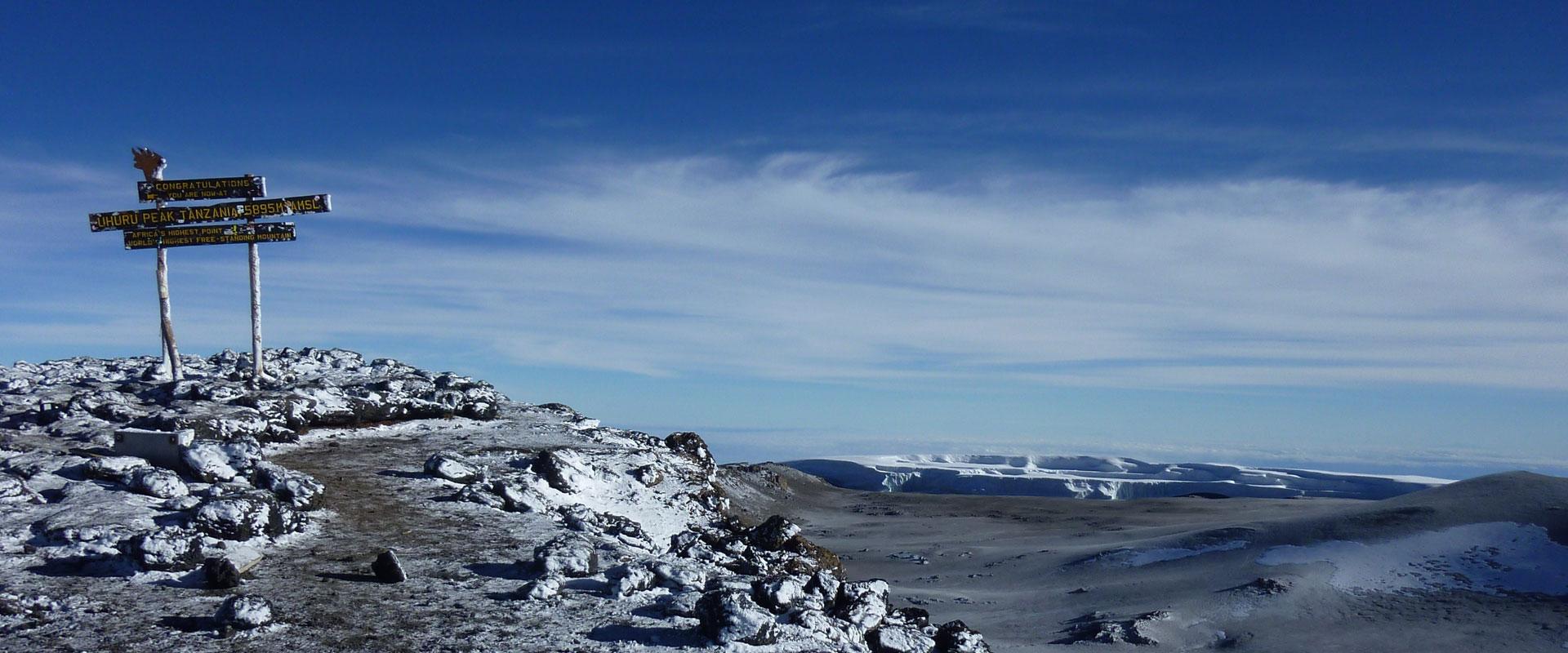 Kilimanjaro Booking Information