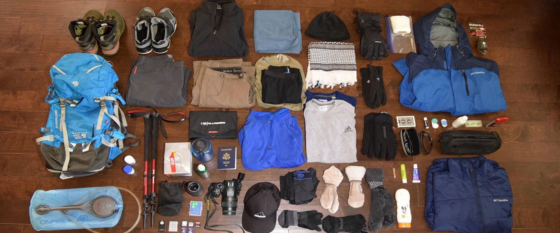 Safari Packing List Tanzania